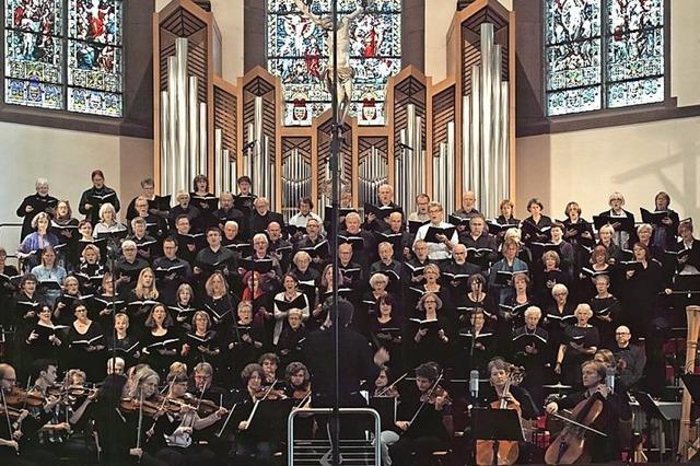 Matthäuspassion mit Kantorei Schopfheim, Solistinnen und Solisten in Schopfheim