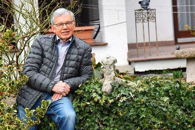Emil Göggel hat den Vorsitz vom Kunstkreis Radbrunnen abgegeben
