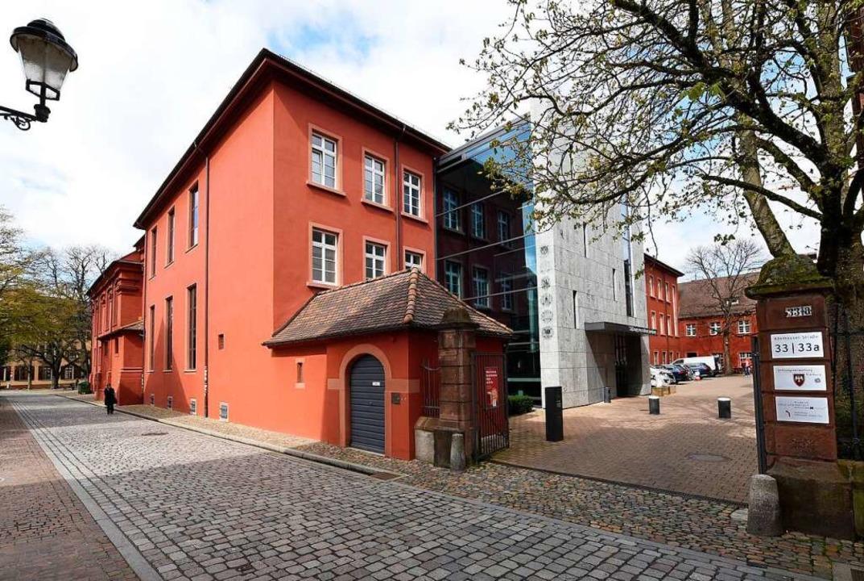 Der Sitz der Stiftungsverwaltung in der Adelhauser Straße in Freiburg  | Foto: Thomas Kunz
