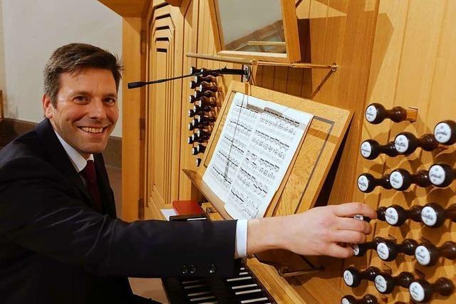 Bezirkskantor Christoph Bogon ist ein vielseitiger Kirchenmusiker