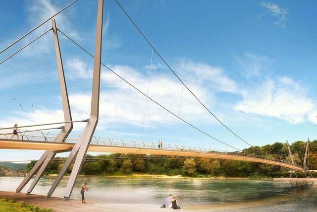 Der Rheinfelder Steg bleibt auch nach der Entscheidung ein Politikum