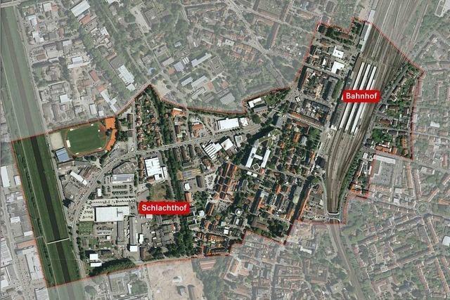 Sanierungsgebiet ermöglicht 200 neue Wohnungen am Offenburger Bahnhof