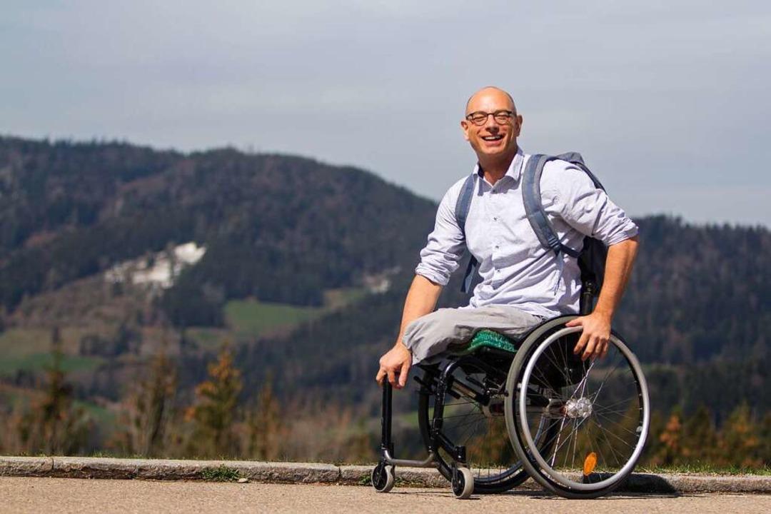 Volker Staudt hat einen Versuch, sich ... und will anderen Menschen Mut machen.  | Foto: Patrik Müller