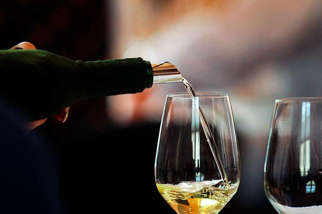 Auxerrois, Riesling oder Sauvignon Bla...de Weißweine zu verkosten. Symbolbild.  | Foto: Karl-Josef Hildenbrand