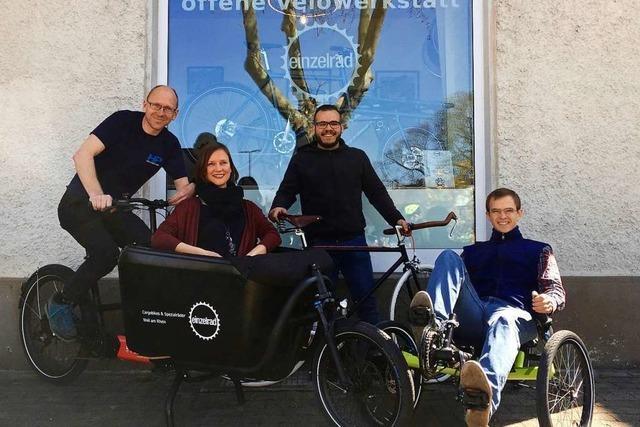In der offenen Velowerkstatt in Haltingen kann man sein Rad kostenlos reparieren