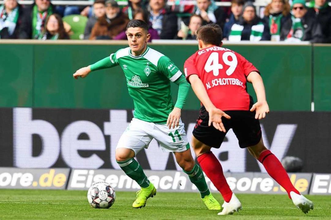 Nico Schlotterbeck: In der Defensive m...gut wie keine Aussetzer. Befriedigend.  | Foto: dpa