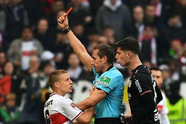 Stuttgart spuckt und verliert gegen Leverkusen