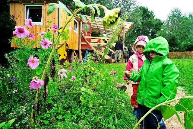 Schliengen bekommt einen Naturkindergarten für 20 Kinder