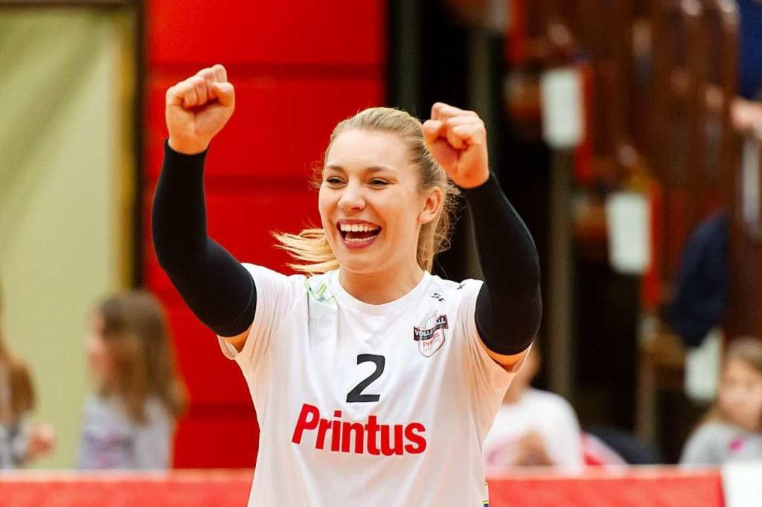 Katrin Hahn vom VC Printus Offenburg.  | Foto: Sebastian Koehli
