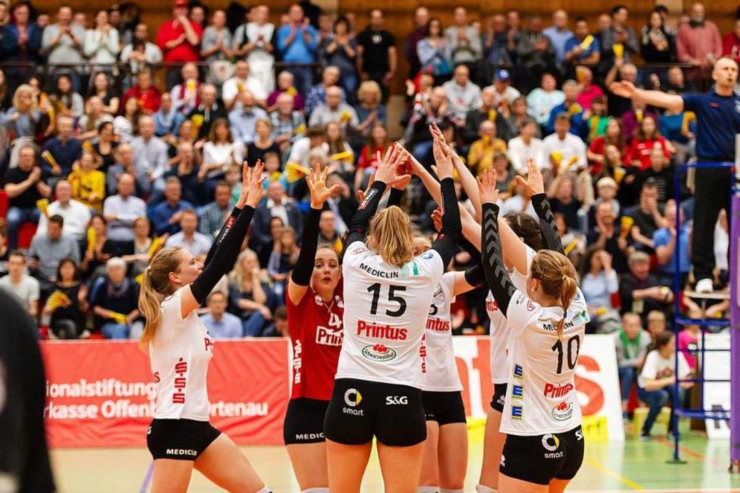 Die Offenburgerinnen bleiben in der Saison 2018/19 unbesiegt.  | Foto: Sebastian Koehli