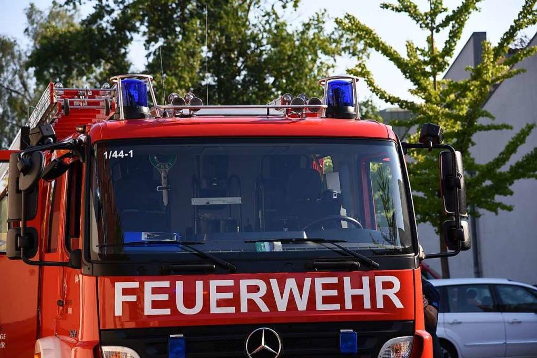 Die Feuerwehr war schnell vor Ort (Symbolbild).  | Foto: Jonas Hirt