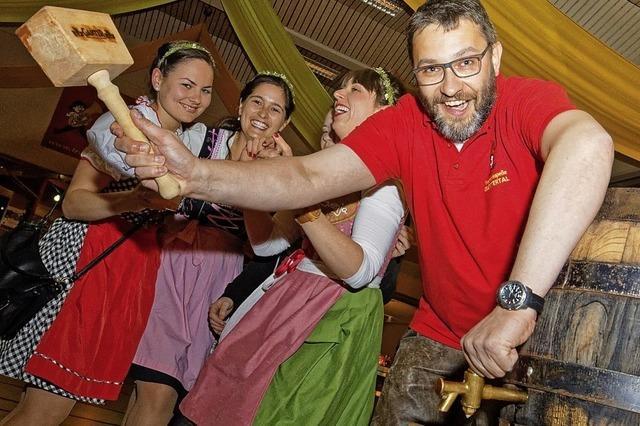 In bayerisch-badischer Feierlaune