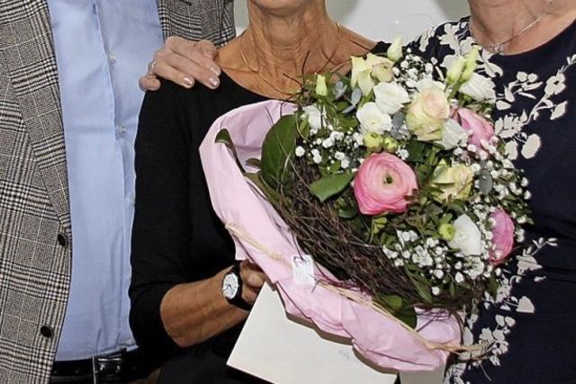 Bewegende Dankesworte in Bötzingen für Melli Fleig