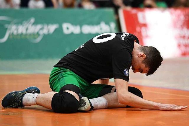 Fotos: Volleyballer der FT 1844 Freiburg steigen nach Niederlage zum Saisonfinale ab