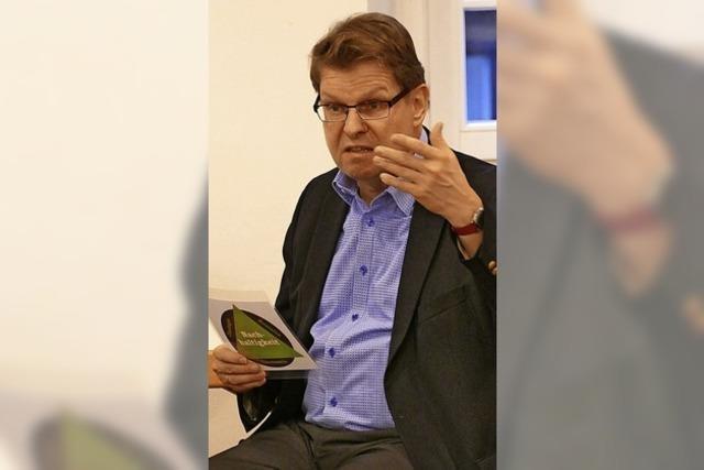 SPD-Bundesvize diskutiert mit Genossen in Grunern