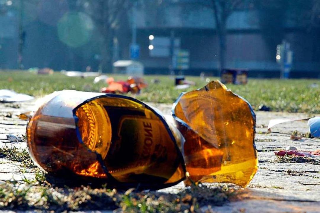 Bei einer Schlägerei in Neustadt mit z...en Personen war auch Alkohol im Spiel.  | Foto: Brigitte Sasse