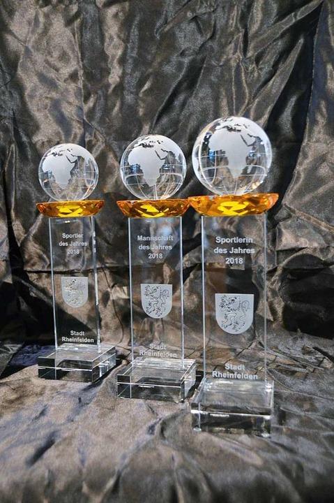 Glaspokale gibt es für die Besten im Sportgeschehen der Stadt.  | Foto: Horatio Gollin