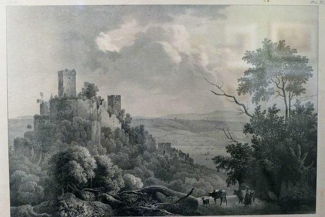 Die Burg Rötteln – Höfischer Glanz über dem Wiesental