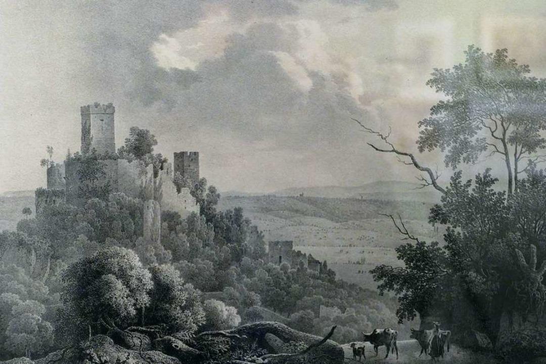 Die Ausstellung im Dreiländermuseum en...che Vorstellungen vom Burgleben nicht.  | Foto: Willi Adam