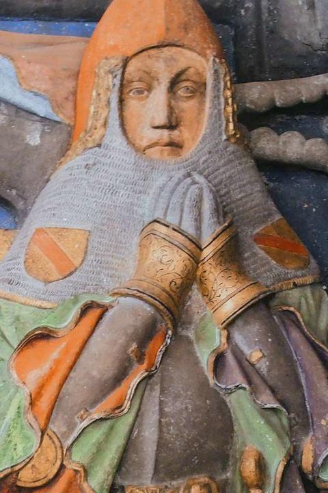 Rudolf III. war einer der großen Grafen von Burg Rötteln.  | Foto: Willi Adam