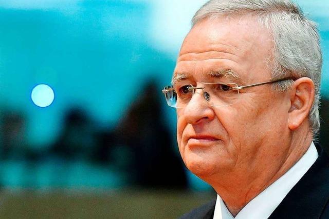 Anklage gegen Ex-VW-Chef Winterkorn und weitere Führungskräfte