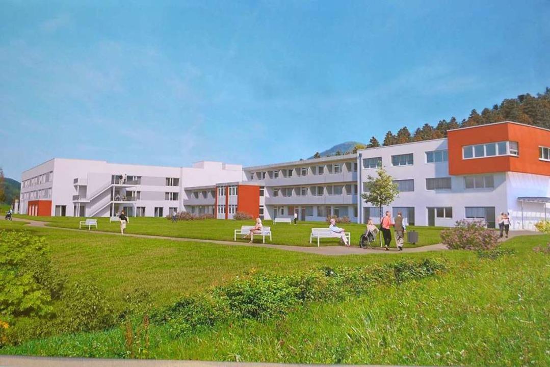 Die BDH-Klinik Elzach wächst weiter.  | Foto: Nikolaus Bayer