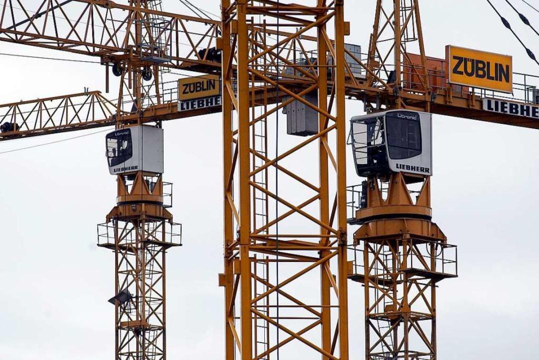 Bald soll in Eichstetten gebaut werden. Symbolbild.  | Foto: Ingo Schneider