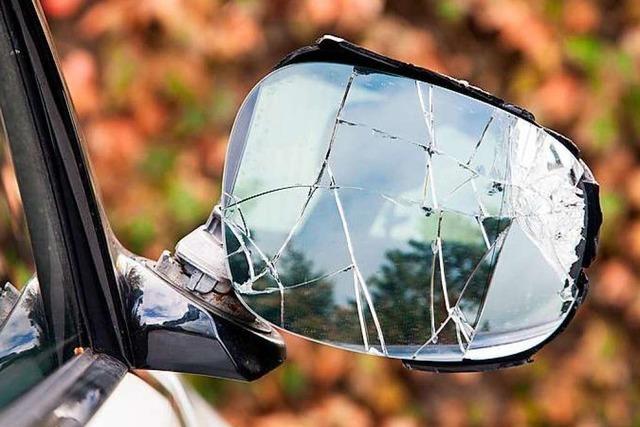 Mehrere Autos in der Lörracher Innenstadt beschädigt
