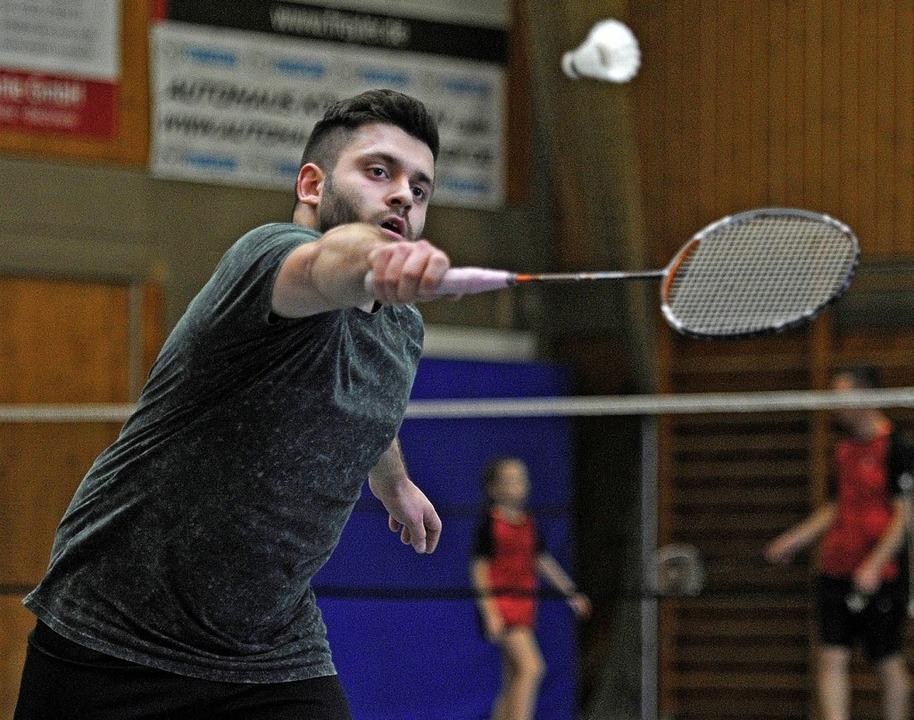 <BZ-FotoAnlauf>Badminton:</BZ-FotoAnla...de  in der Landesliga auf Platz drei.   | Foto:  Pressebüro Schaller
