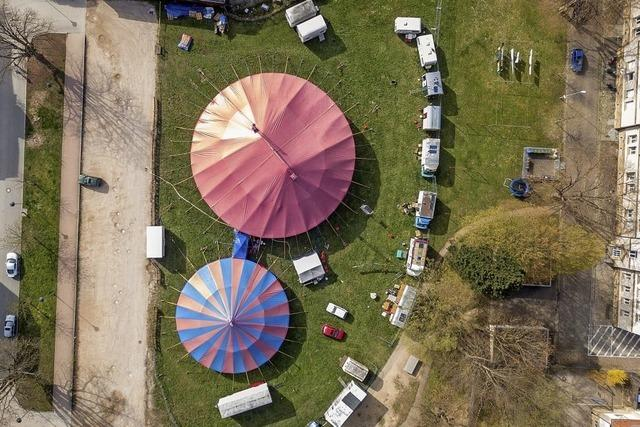 VielfältigesProgramm mit dem Zirkus Ragazzi in Müllheim