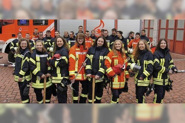 Feuerwehrprüfung in Friesenheim