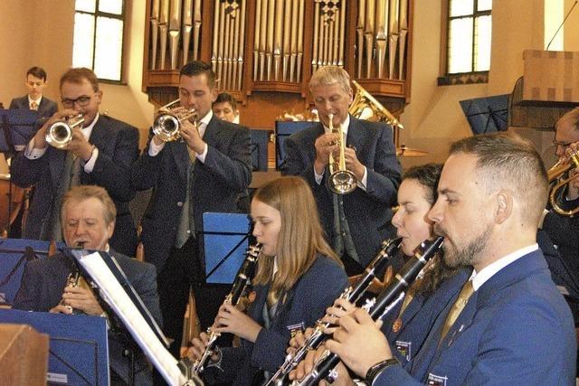 Mit geistlicher Musik stimmte der Musikverein aufs Osterfest ein