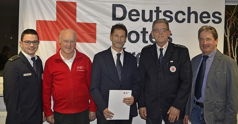 Der stellvertretende Kreisbereitschaft...itzende Gottfried Martin (von links).   | Foto: Hans-Jochen Voigt