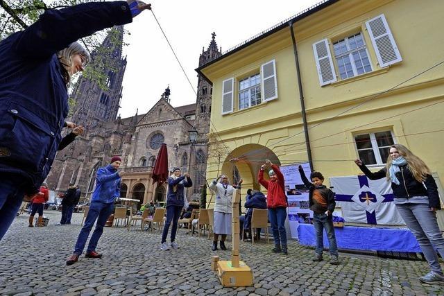 Weltjugendtag rund um das Münster