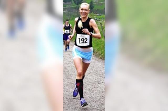 Auch als Marathoni flink beim Panoramalauf