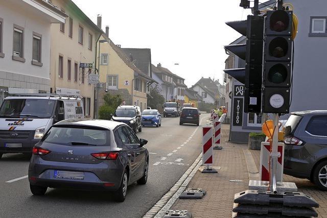 Markgrafenstraße für drei Tage halb gesperrt