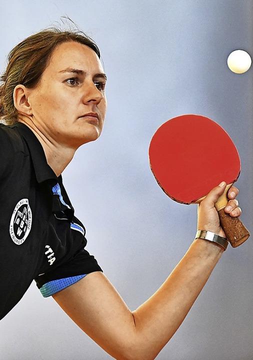 Heike Gracki überzeugte zum Saisonende...Einzelsiegen für Blau-Weiss Freiburg.   | Foto: Keller