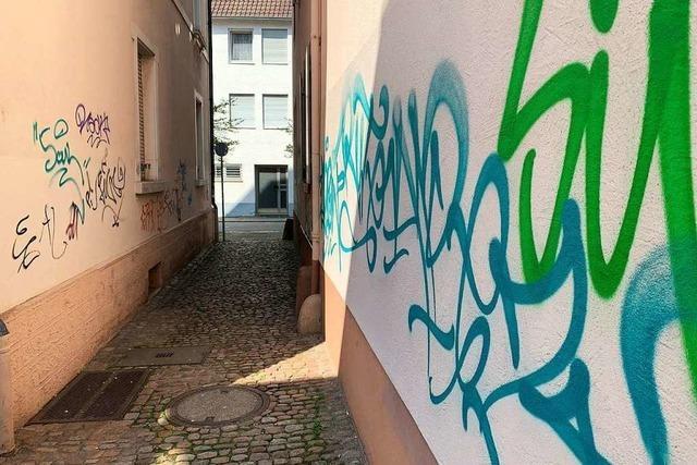Offenburg sagt illegalen Graffitis den Kampf an