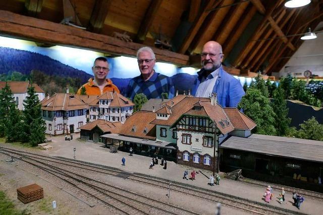 Modellbauer wollen Mini-Höllentalbahn für großes Publikum zugänglich machen