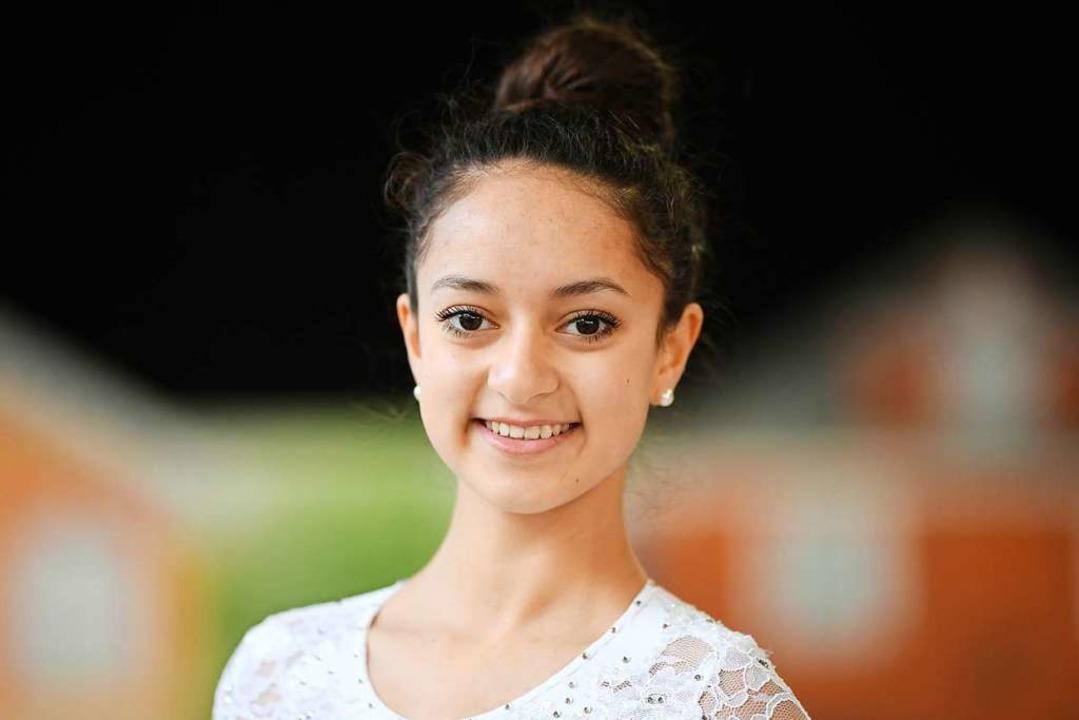 Deutsche Vizemeisterin der Schülerinnen A: Tamina de Silva  | Foto: Patrick Seeger