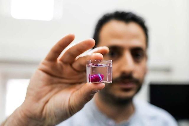 Forscher drucken erstmals Mini-Herz aus menschlichem Gewebe
