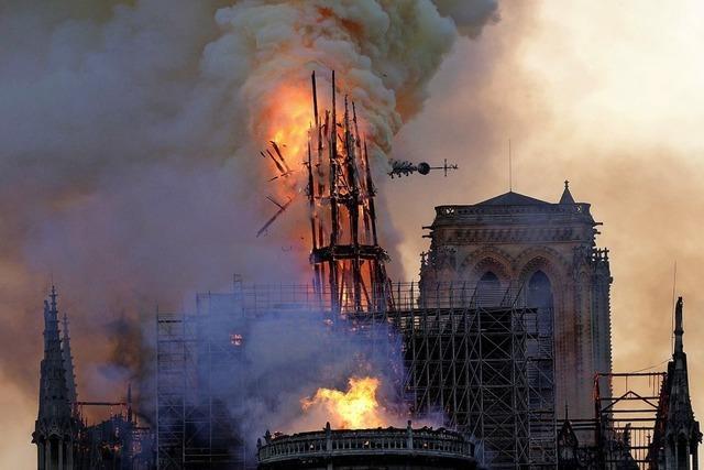 Flammen zerstören Notre-Dame