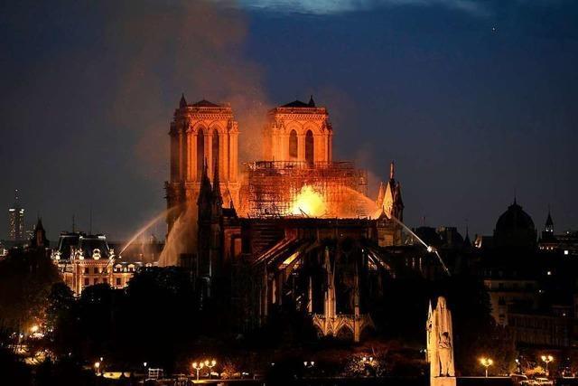Die Schäden an der Kathedrale Notre-Dame sind noch nicht absehbar