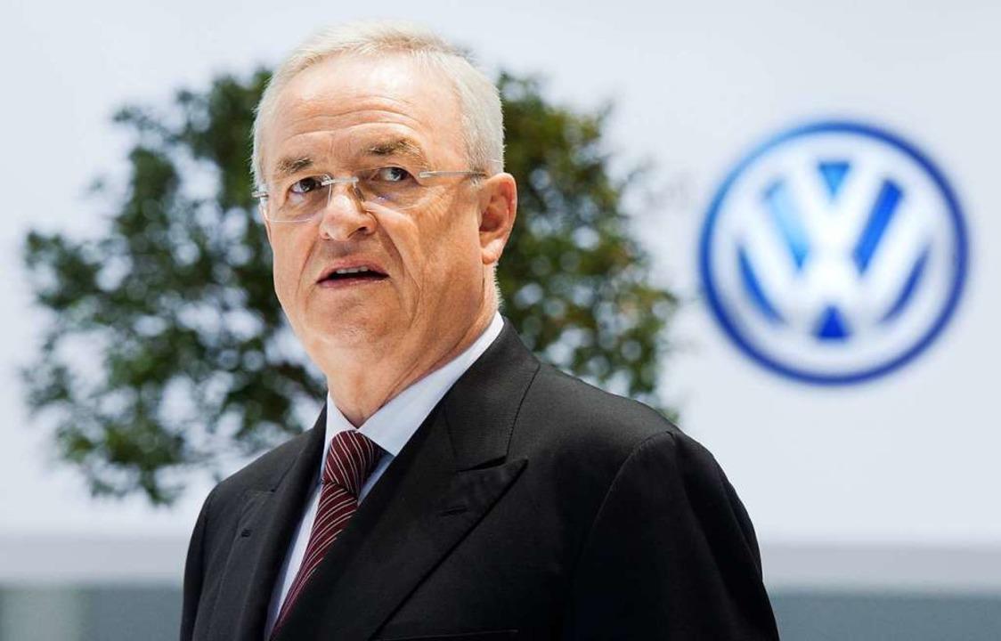 Der frühere Konzernchef Martin Winterkorn   | Foto: DPA