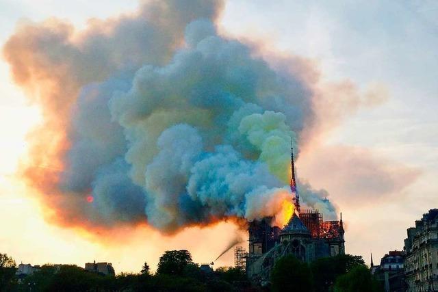 Kritik an ARD-Berichterstattung zu Brand von Notre-Dame