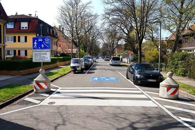 Ein Teil der Ekkebertstraße ist jetzt verkehrsberuhigt – das soll gegen Raser helfen