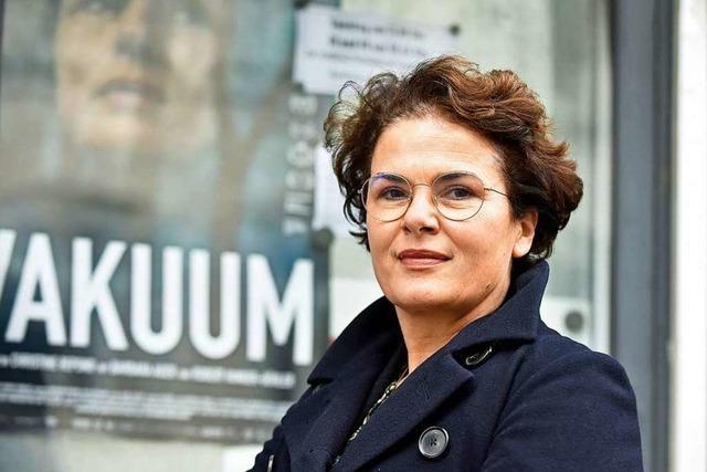 Barbara Auer besprach im Friedrichsbau ihren neuen Film