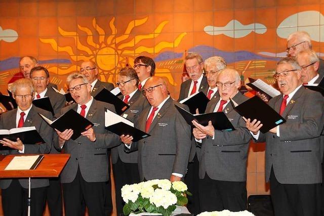 Bötzinger Männergesangsverein feiert sein 175-jähriges Jubiläum