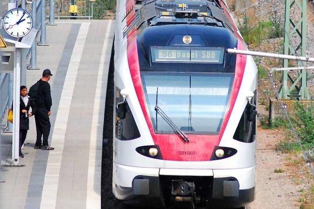 Der Landkreis Lörrach hat den Ausbau der S-Bahn fest im Blick