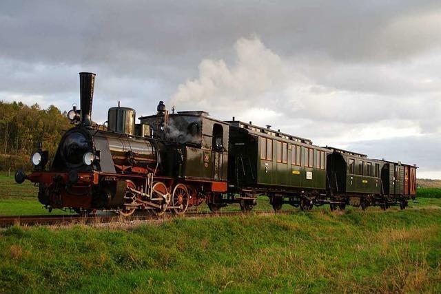 Der Verein Kandertalbahn leistete 10.000 Arbeitsstunden für 25.000 Gäste